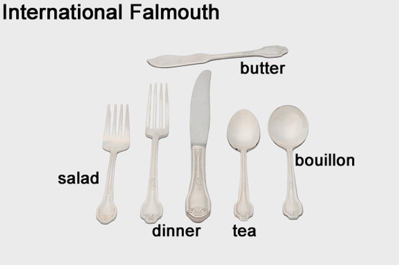 International Falmouth Silverware Flatware Tableware