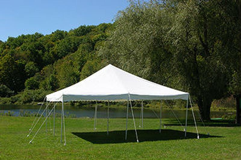 20u0027 Wide Rope And Pole Tents & 20u0027 Wide Rope u0026 Pole Tent | Rental Reception Party Banquet ...