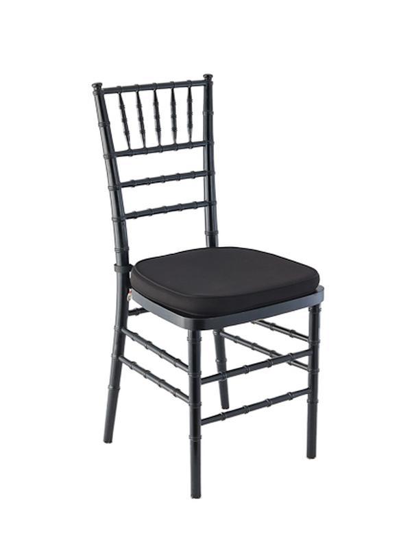 Black Chiavari Ballroom Chair Rental Reception Party