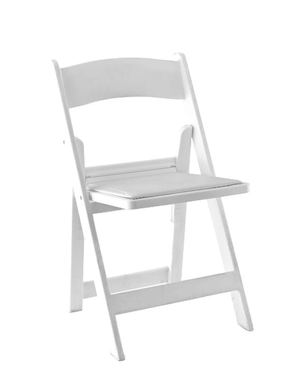 Amazing White Classic Padded Folding Chair Rental Reception Party Creativecarmelina Interior Chair Design Creativecarmelinacom