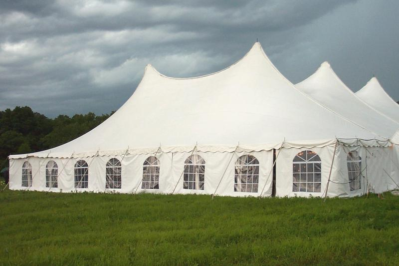 80u0027 Wide Rope And Pole Tents & 80u0027 Wide Rope u0026 Pole Tent | Rental Reception Party Banquet ...