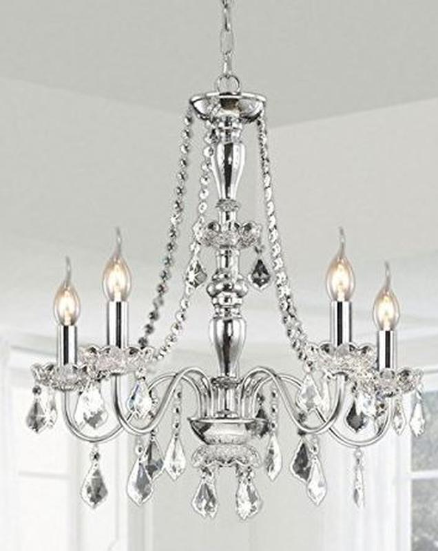 Crystal chandelier event banquet wedding party ultimate events chrome crystal chandelier aloadofball Choice Image