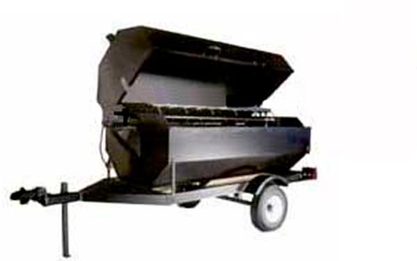 Professional Charcoal Propane Grill Rental | Event Banquet