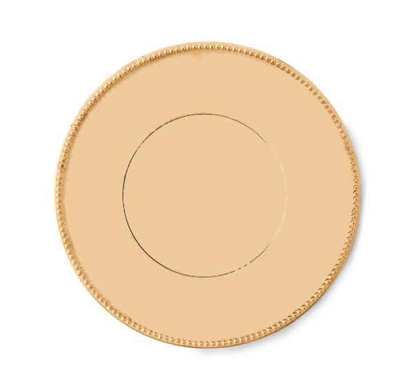 12\  Gold Acrylic Charger Plate  sc 1 st  Ultimate Events & Wedding Plate Chargers | Dinner Plate Chargers | Ultimate Events