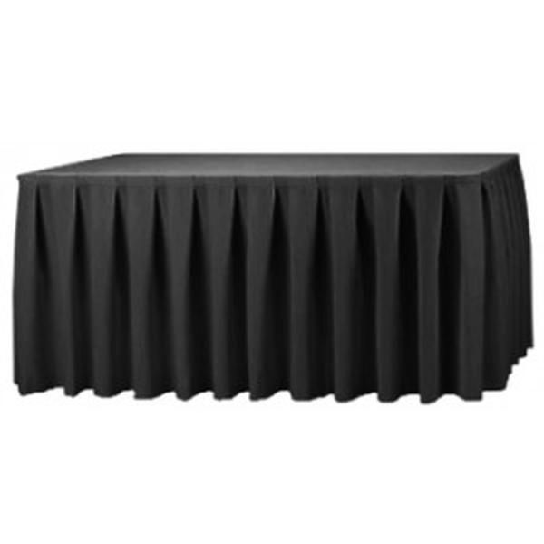 Black-Table-Skirt  sc 1 st  Ultimate Events & Table Skirts Skirting Of All Colors | Event Wedding Banquet Rentals ...