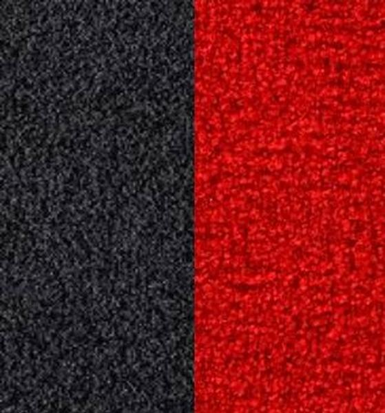 Indoor Outdoor Carpet Red Black   Artifical Lawn Carpeting Rental ...