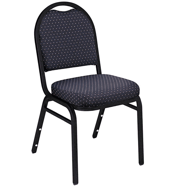 Stacking Chairs - Navy