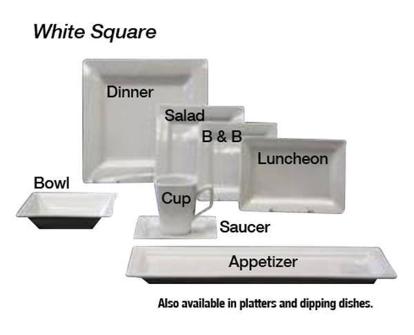 White Square China