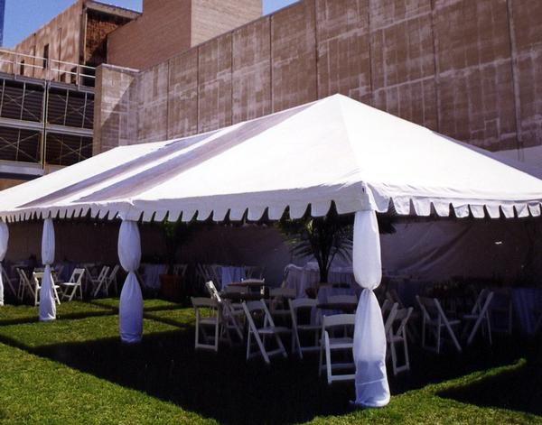 Tent Rental | Wedding Party Event | Rope & Pole, Structure