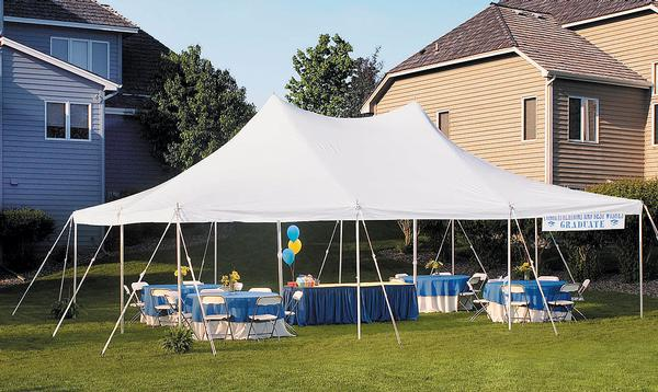 Customer Install Tents & Tent Rental | Wedding Party Event | Rope u0026 Pole Structure Canopy ...