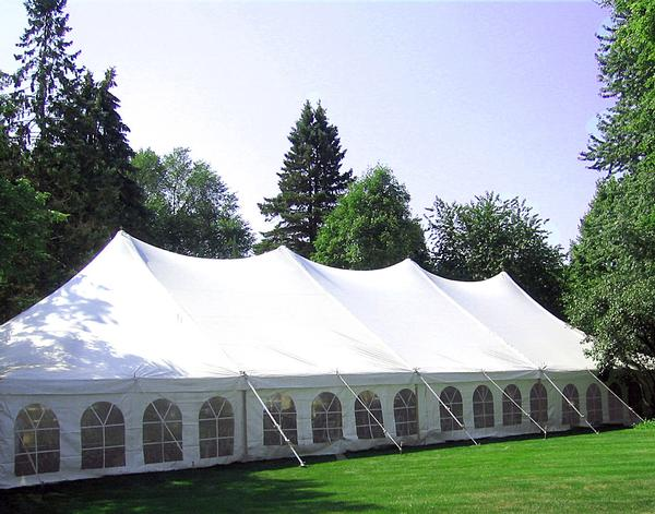 Rope & Pole Tent Rental | Wedding Party Reception Banquet | Ultimate ...
