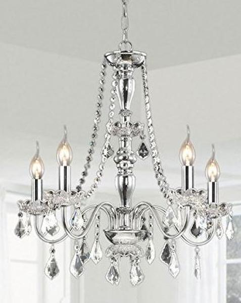 Chandeliers Table Lamps Rental | Iron Glass Candle | Ultimate Events