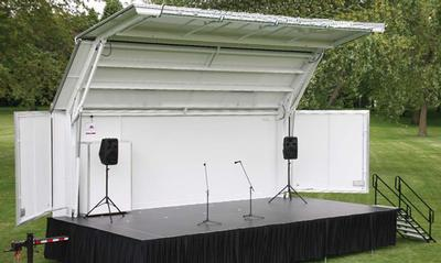 15 X 28 Stage Towable Showmobile Event Banquet Wedding