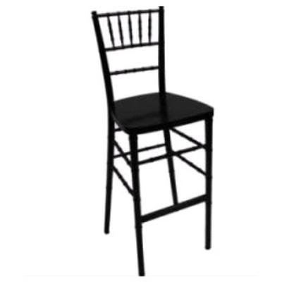 Black Chiavari Ballroom Bar Stool