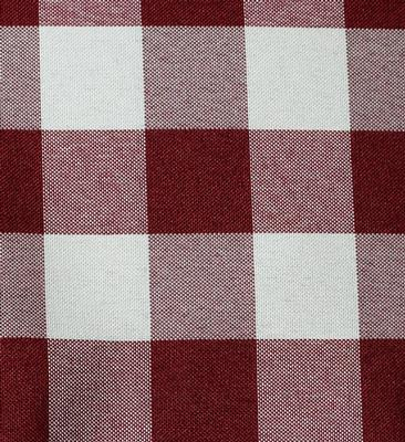 Burgundy Check UT