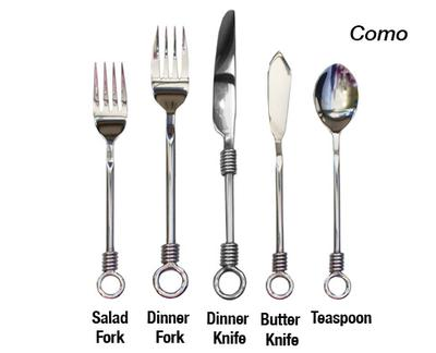 Como Stainless Steel Flatware