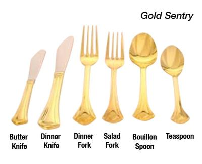 Gold Sentry Flatware