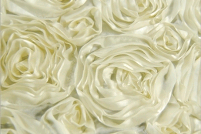 Ribbon Rose Ivory