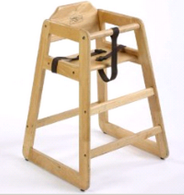 Youth High Chair - Wood