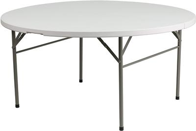 folding table round